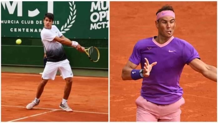 Carlos Alcaraz vs Rafael Nadal