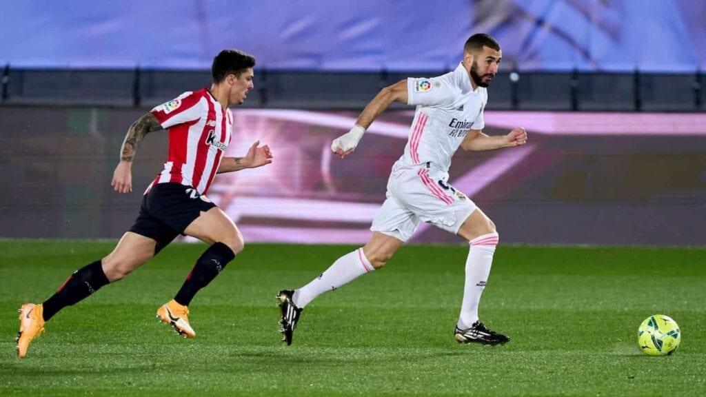 Real defeated Bilbao 3-1 when they went face to face in the league in January
