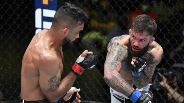 Rob Font and Cody Garbrandt