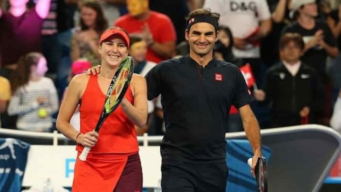 Belinda Bencic, Roger Federer
