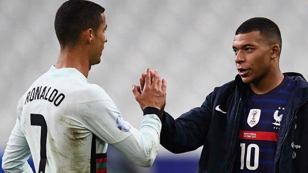 Ronaldo and Mbappe - FirstSportz