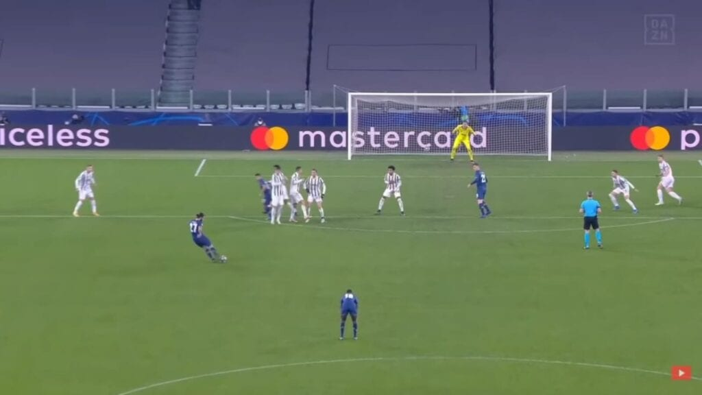 Serge Olivera scored in extra time to give Porto the edge over Juventus this season