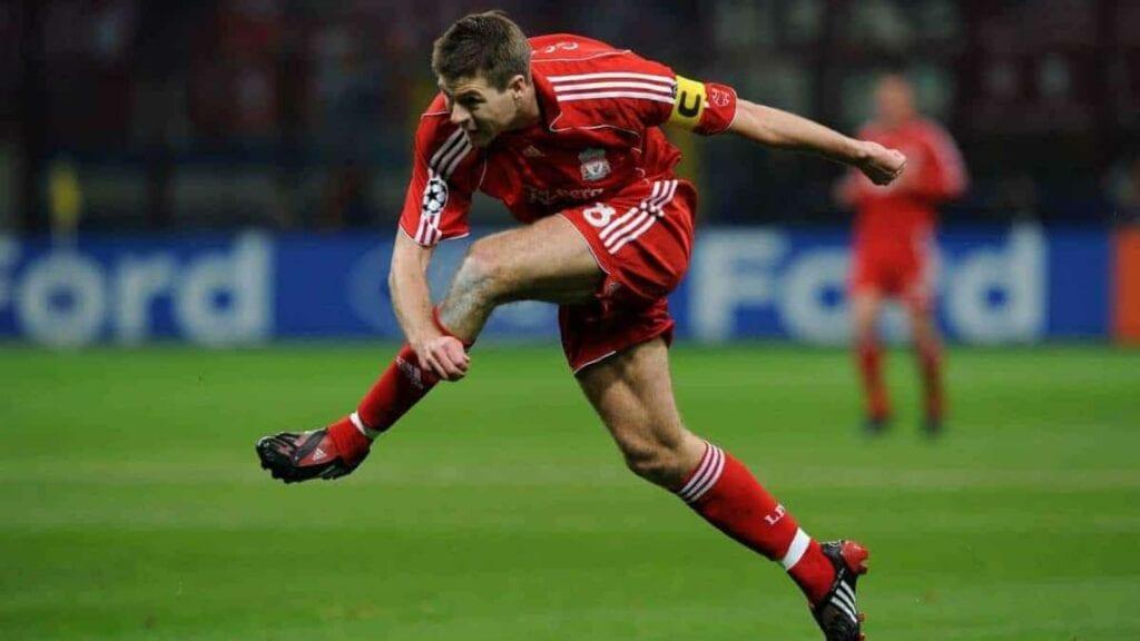 Steven Gerrard for Liverpool