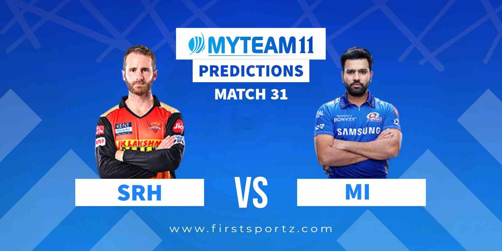 Sunrisers Hyderabad (SRH) vs Mumbai Indians (MI)