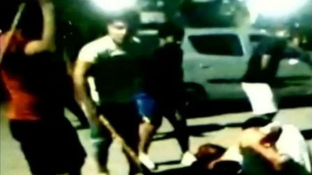 Sushil Kumar seen with stick during the Chhatrasal stadium brawl