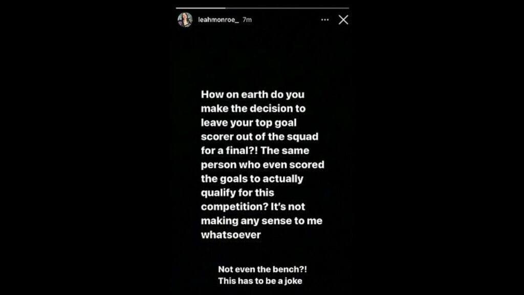 The Instagram post by Abrahams girlfriend - FirstSportz