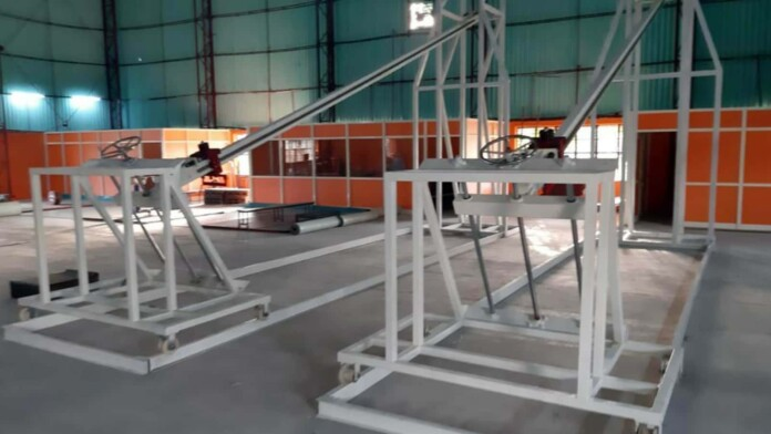 The KTG machines at National Institute of Sports, Patiala