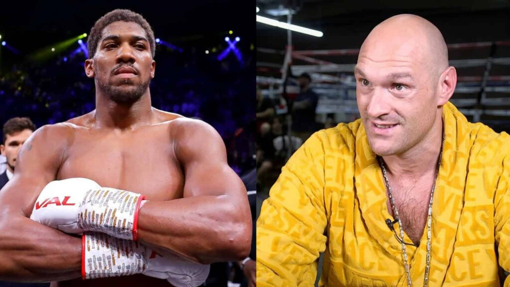Tyson Fury vs Anthony Joshua