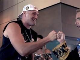 Tyson Fury and Billy Joe Saunders