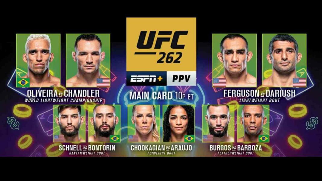 UFC 262 Main Card
