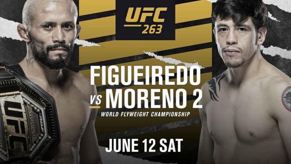UFC 263 Deiveson Figueiredo vs Brandon Moreno 2