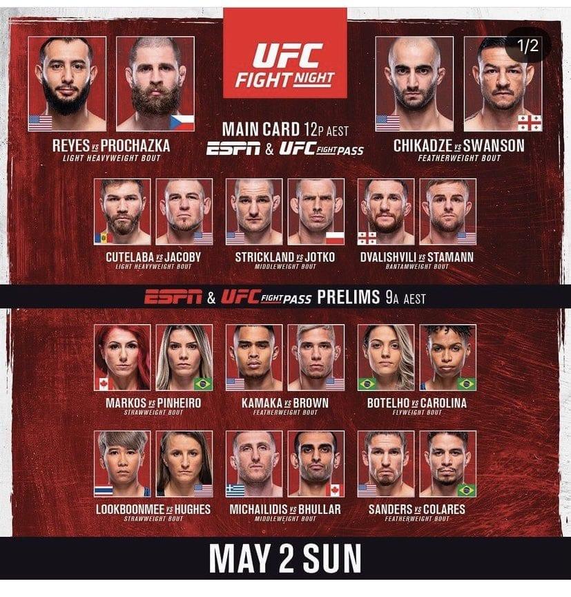 UFC Vegas 25