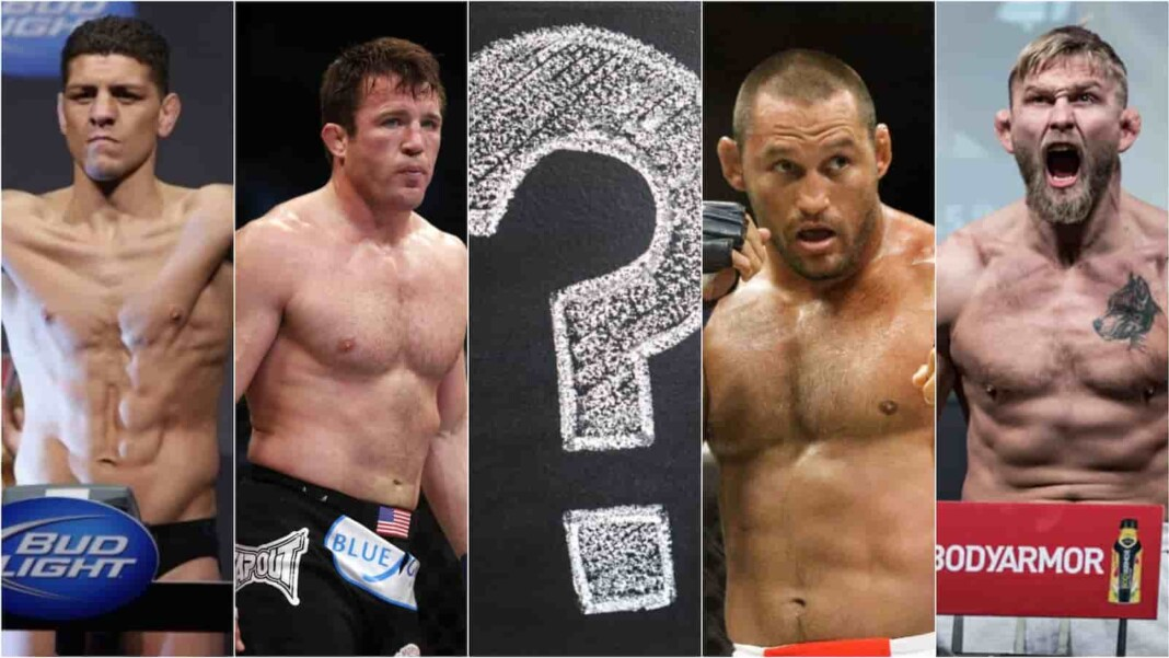 UFC fighters who never won a title
