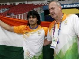 Uwe Hohn and Neeraj Chopra