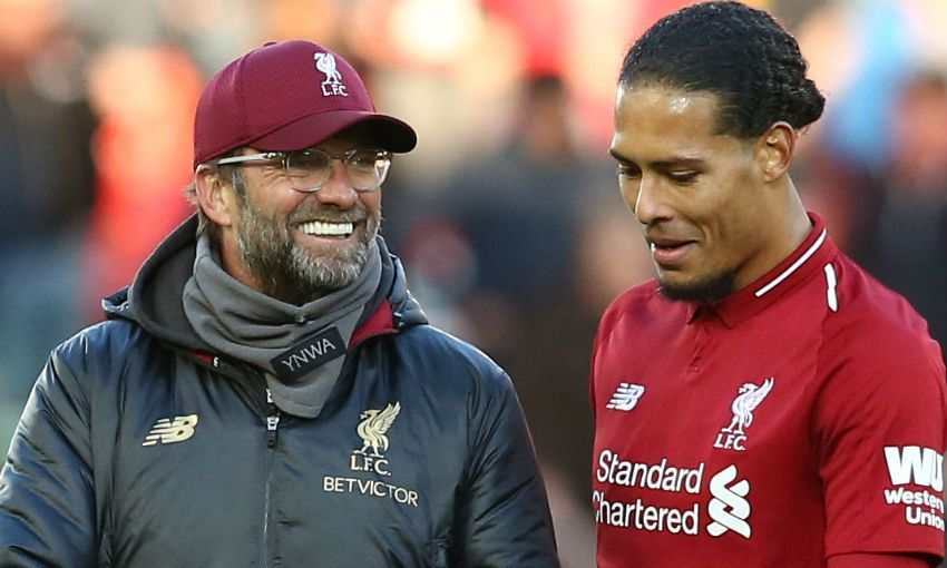 Van Dijk has missed the enire season for Liverpool due to his ACL tear - FirstSportz