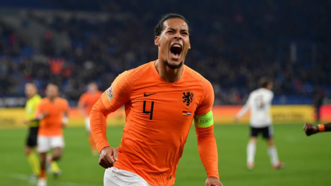 Virgil Van Dijk will miss the Euros this summer for Netherlands