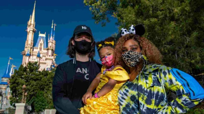 Serena Williams and family