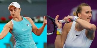 Ash Barty and Petra Kvitova