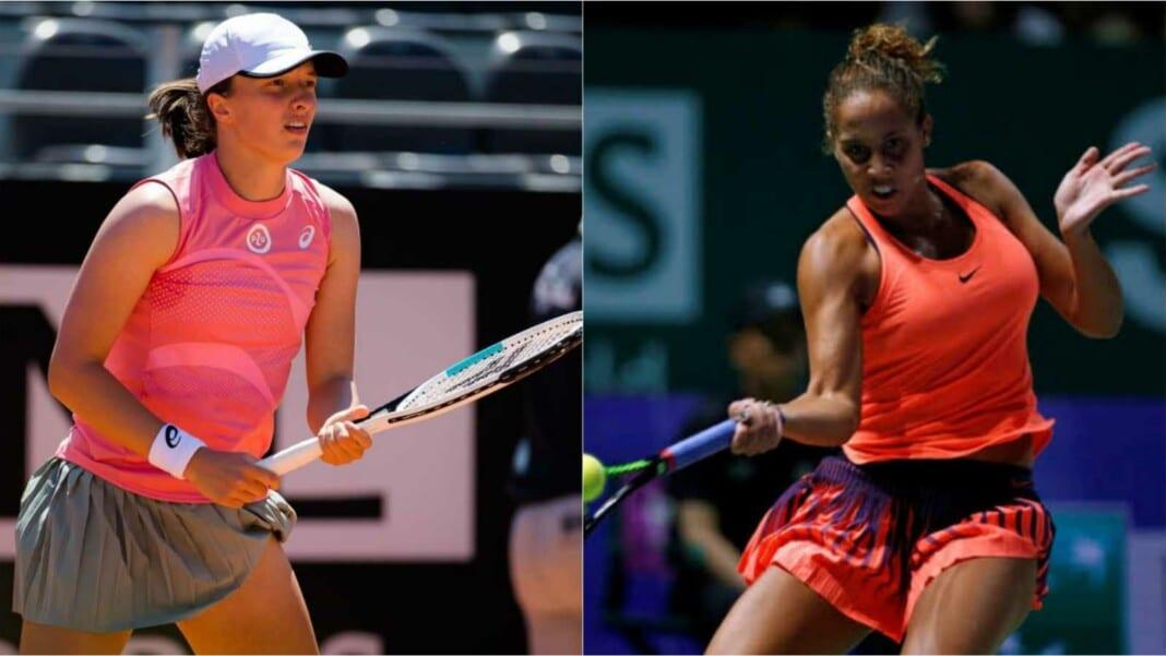 Iga Swiatek and Madison Keys