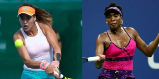Sorana Cirstea and Venus Williams