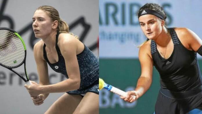 Ekaterina Alexandrova and Clara Burel