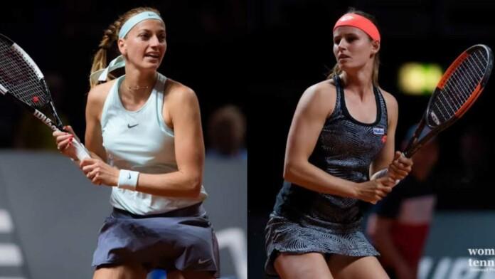 Petra Kvitova and Greet Minnen
