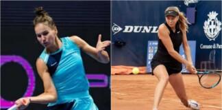 Veronika Kudermetova and Amanda Anisimova