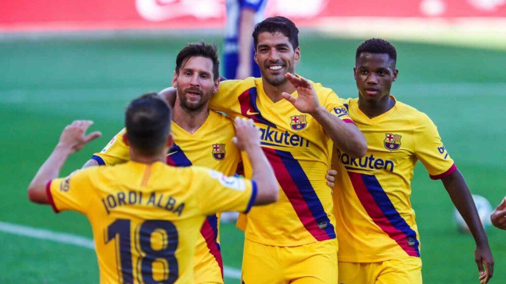 Will Luis Suarez come back to haunt Barcelona - FirstSportz