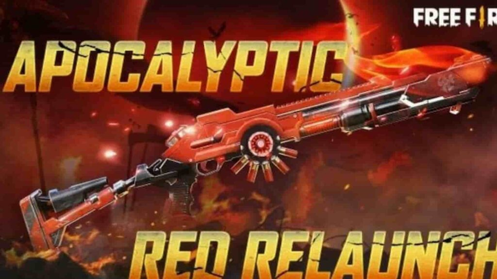 Apocalyptic red m1014