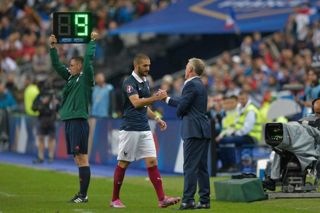 Karim Benzema has not played for France since 2015