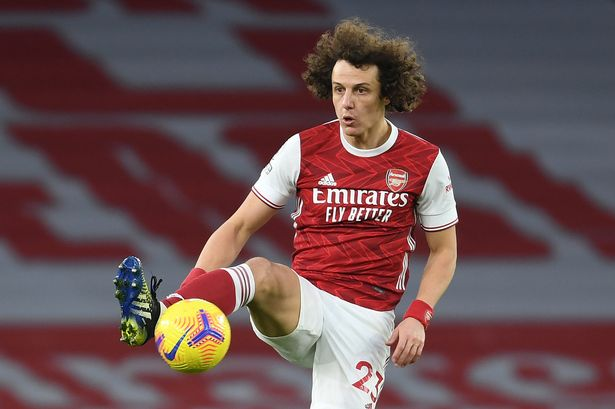 Luiz has been crucial figure at the back for Arsenal