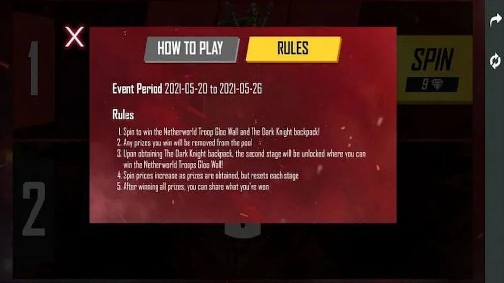 Duplex Cache Event Rules