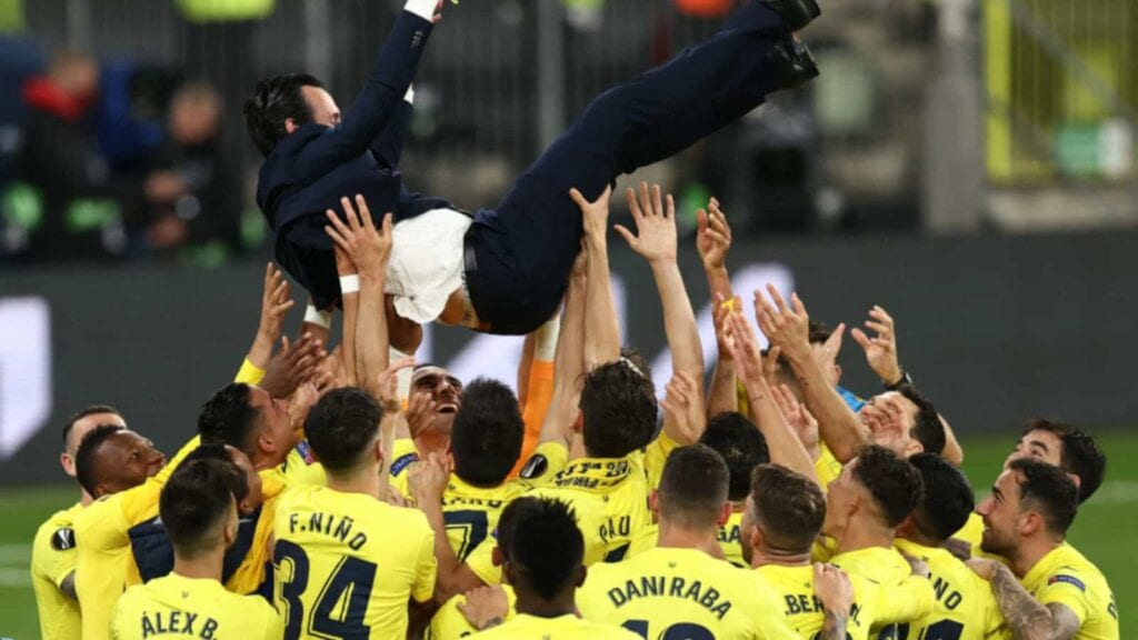 Villarreal coach Emery secured a record fourth title in the competition