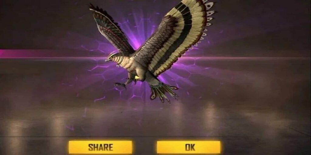 Falco best pet in free fire