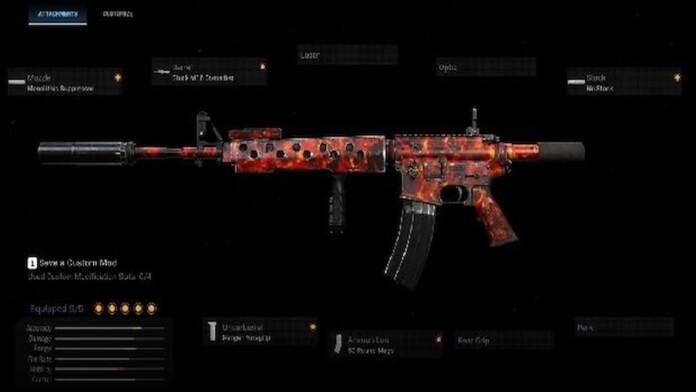best m4 loadout warzone