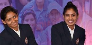 Harmanpreet Kaur and Mithali Raj