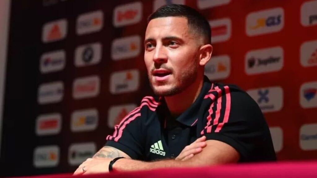 """I don't see myself outside of Madrid"" says Eden Hazard"
