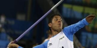 Devendra Jhajharia in Indian Paralympics team