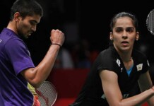 Kidambi Srikanth and Saina Nehwal