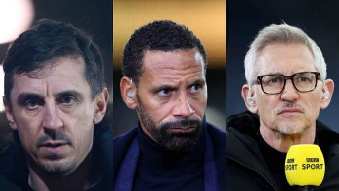 Neville, Ferdinand and Lineker lead proceedings for an independent regulator in English football after Super League plot