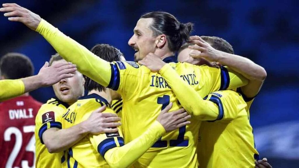 Ibrahimovic came out of retirement to play for his national side for the first time in five years in March