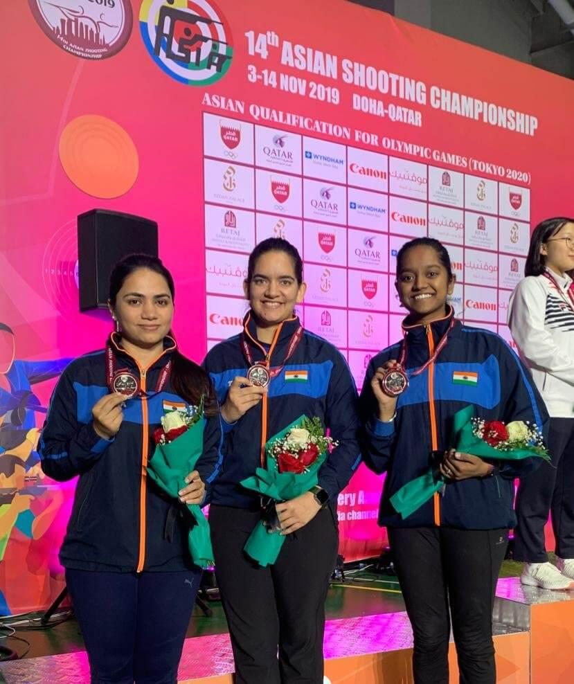 Women's 10m AR Team