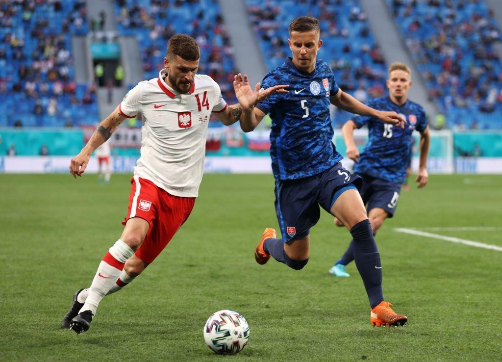 Poland Vs Slovakia Player Ratings
