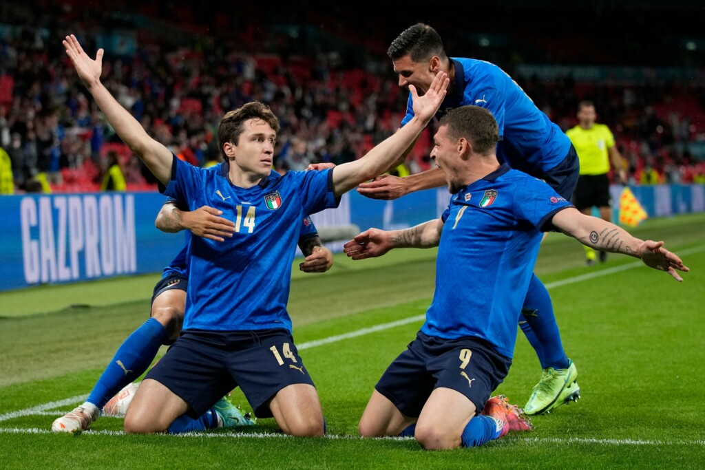 Euro 2020 Italy Vs Austria - Federico Chiesa gives Italy the lead in extra time, with Pessina doubling shortly afterwards