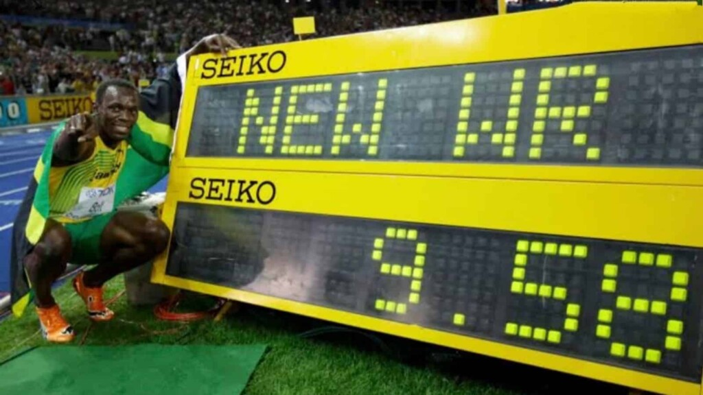 The World Record made by Usain Bolt
