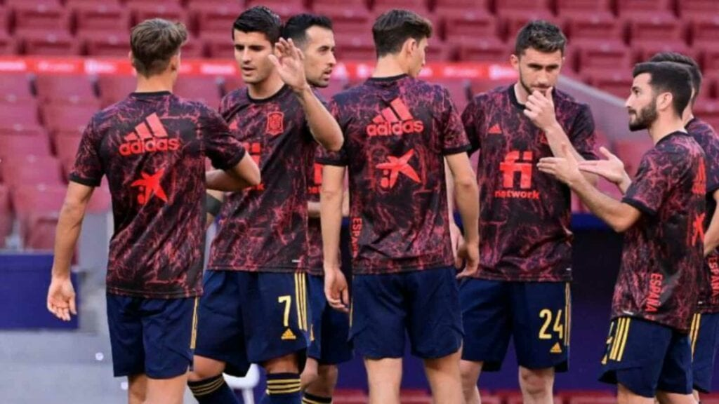 A new look Spain side at the European Championships