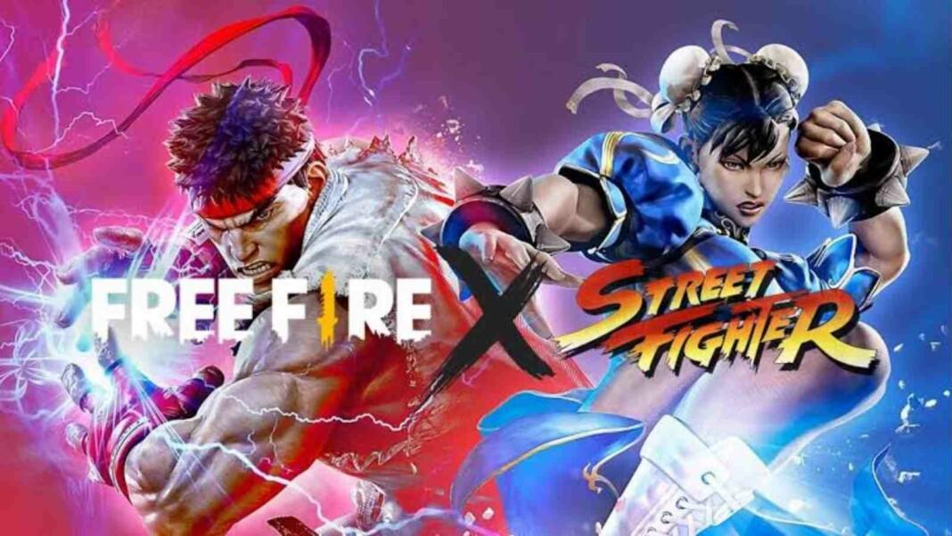 Free fire street fighter rewards