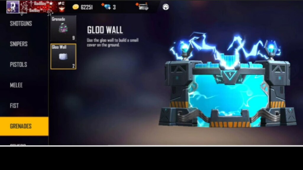 free fire items not on Indian server