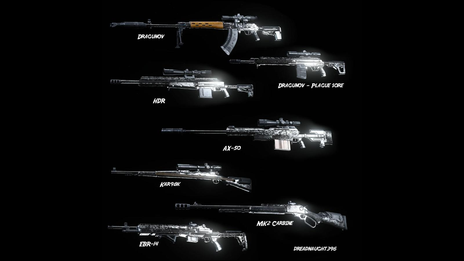 COD Warzone Best Marksman Rifle: Top 5 MRs in Call of Duty