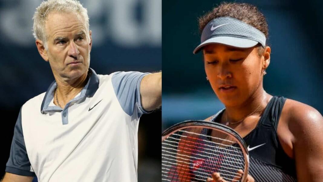 John McEnroe and Naomi Osaka
